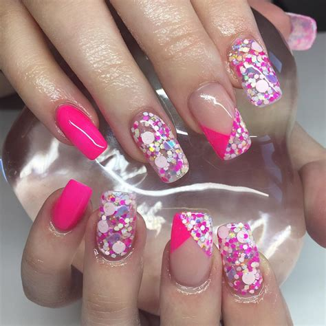 Www Nail Designs by 25 Pink Acrylic Nail Designs Ideas Design Trends