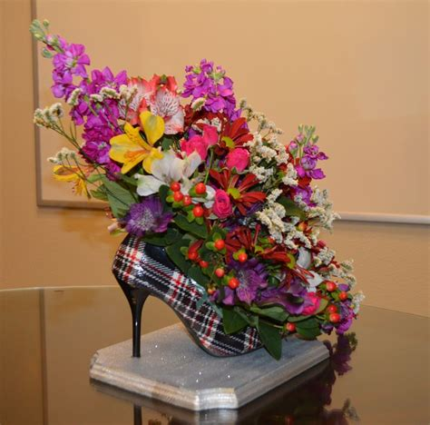 flower high heel shoes 15 best high heel floral arrangments images on