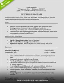 how to write a caregiver resume exles included