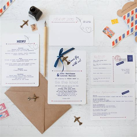 Wedding Invitation Packs by Fly With Us Diy Wedding Invitation Pack By Wedding In A