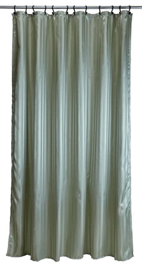 ready made bathroom curtains extra long ready made shower curtain tuxedo stripe sage green shower curtains by