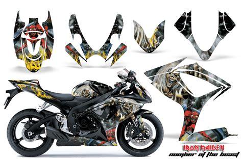 Suzuki Motorcycle Graphics 2006 2007 Suzuki Gsx R600 R750 Bike Graphic Decal