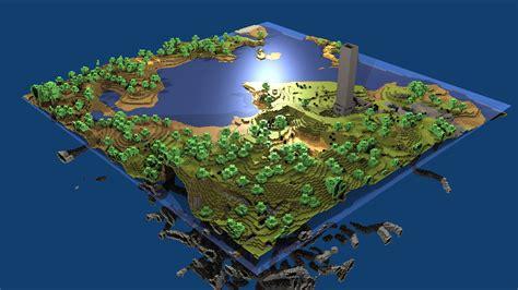 Home Design 3d Juego Download The Minecraft World Wallpaper Minecraft World
