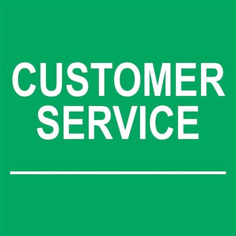 Ebay Gift Card Customer Service - customer service sign 8 quot x 8 quot ebay