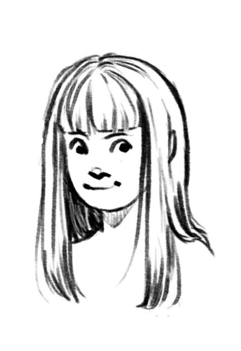 how to draw bangs miato does do you any tips advice on drawing hair