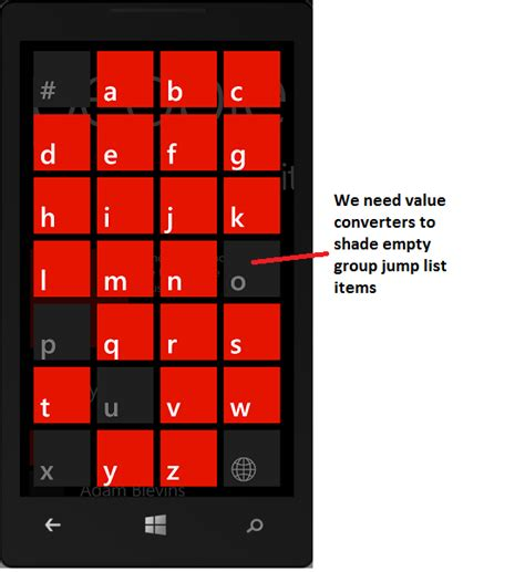 layout xaml windows phone windows phone 8 xaml longlistselector windows developer