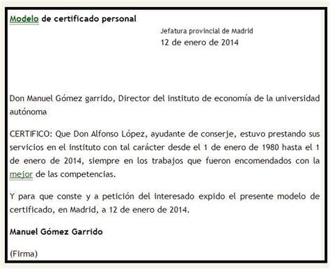 modelo carta de ingresos modelo certificado de ingresos para independientes 2014