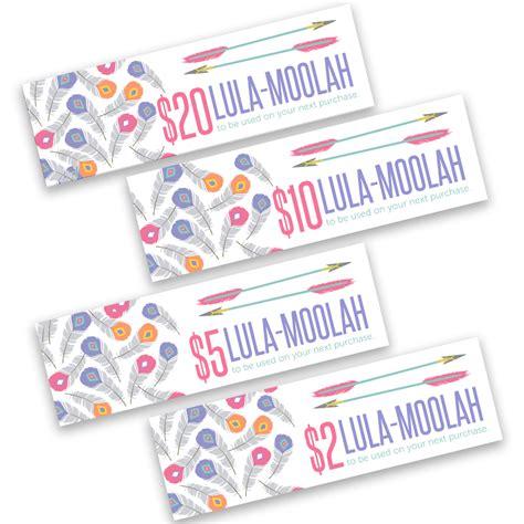 Free Lularoe Gift Card Template by Free Printable Lularoe Lula Moolah Designer Printables