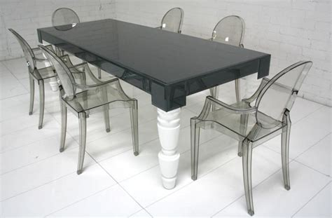 www roomservicestore grey glass mixed up dining table