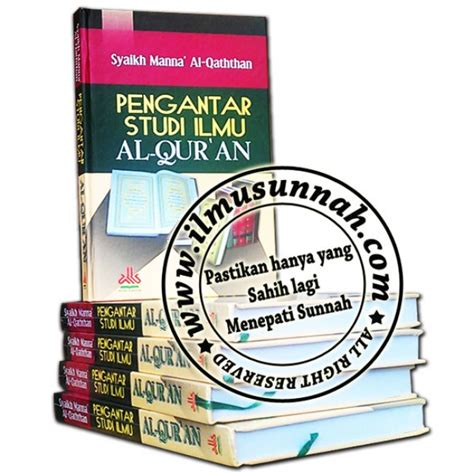 Diskon Pengantar Studi Ilmu Al Qur An Cover pengantar studi ilmu al qur an soft cover