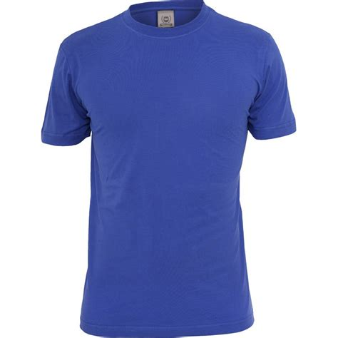 T Shirt Azzurra t shirt girocollo school market uniformi