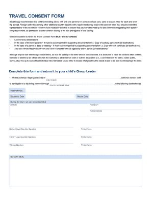 consent letter for minors travelling abroad netherlands consent letter for child travelling abroad fill