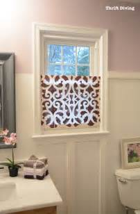Screen Blinds For Windows How To Make A Pretty Diy Window Privacy Screen Window