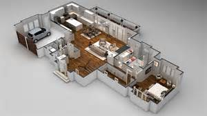 Floor Plan In 3d 3d Floor Plans Cartoblue