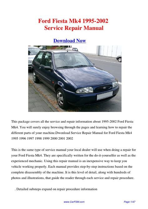 how to download repair manuals 1995 ford f150 free book repair manuals download 1995 2002 ford fiesta mk4 service repair manual by gong dang issuu