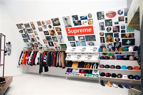 shop supreme supreme store to open in sneakers addict
