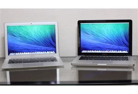 Macbook Air Dan Pro macbook pro vs macbook air specs and review product reviews net