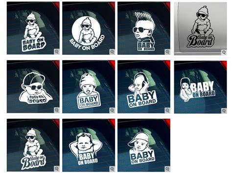 Sticker Mit Namen Bestellen by Baby On Board Autoaufkleber Sticker Wenn Dann Bitte So