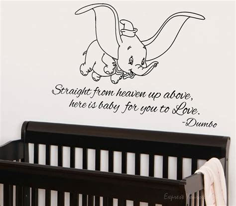 Dumbo Wall Stickers here is a baby for you to love dumbo wall art wall