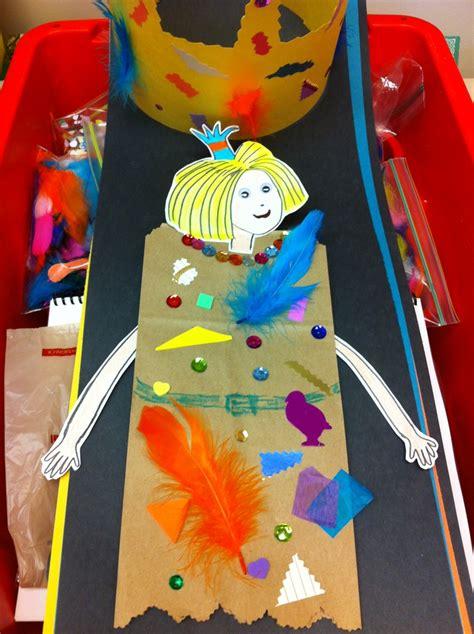 Paper Bag Princess Craft - paper bag princess craft craft ideas
