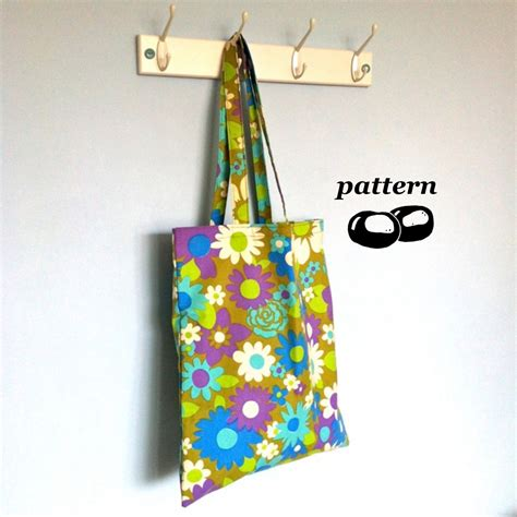 easy tote bag sewing pattern free tote bag pattern shoulder bag pattern easy sewing