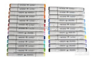 best markers for coloring 24 color set finecolour sketch marker pens to artist and