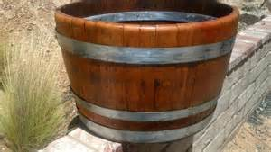 Decorative Planters Decorative Wine Barrel Planter Bands