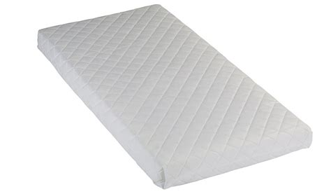 Compact Mattress by George Baby Sprung Mattress Compact Cot 100 X 50 Cm