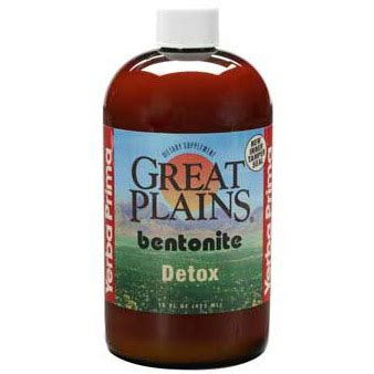 Bentonite Liquid Detox by 046352005195 Upc Yerba Prima Great Plains Bentonite