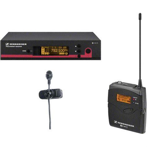 Mic Wireless Senheiser Ew 122 G2 Clip On sennheiser ew 122 g3 clip on lavalier microphone wireless set presentation transmitter