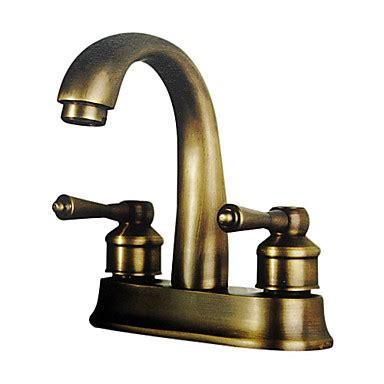 bathroom faucet antique brass antique inspired 4 inch bathroom sink faucet polished brass finish