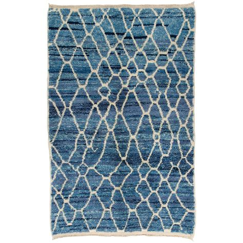 Moroccan Rug Blue by Moroccan Rug In Light Blue And Ivory Colors For Sale At