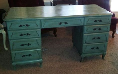 chalk paint executive desk the big bad executive desk has been tamed it s been