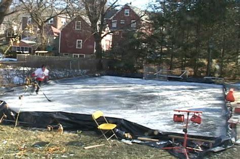 diy backyard ice rink diy backyard ice skating rink outdoor furniture design and ideas