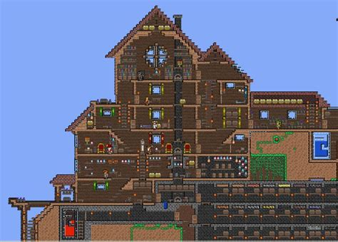 Big House Terraria Pinterest Mansions My House And House Layout Terraria