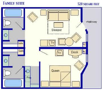 family suites at all star movie resort