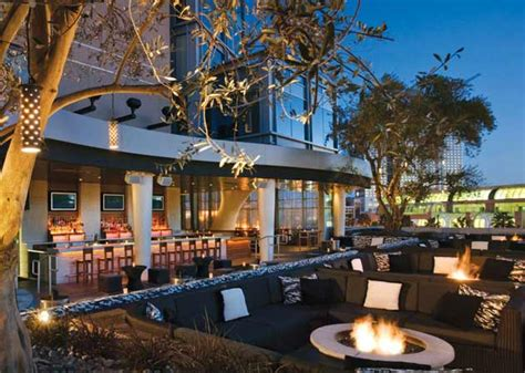 roof top bar san diego san diego rooftop bar float at hard rock hotel best