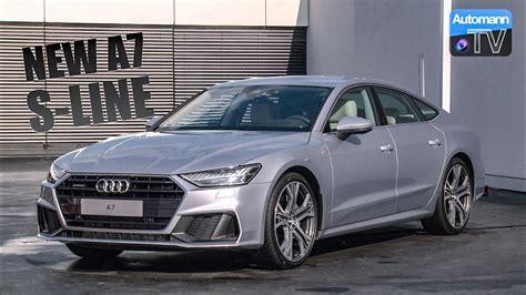 Audi A4 S Line Vs Non S Line by 2018 Audi A7 55 Tfsi S Line Detailed Tour 60fps Youtube