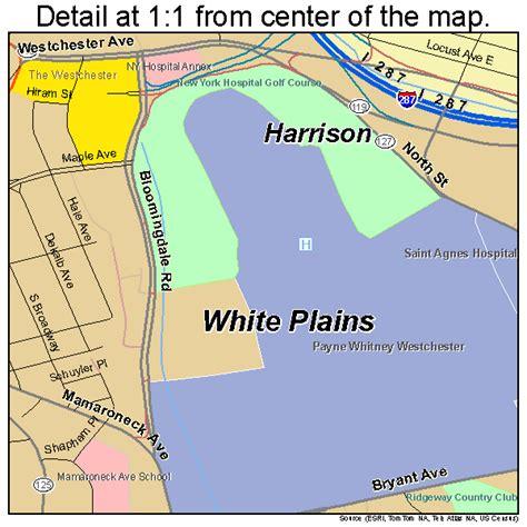 white plains new york map white plains new york map 3681677