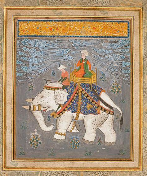 Ottoman Rulers An Ottoman Ruler On An Elephant