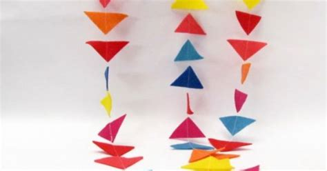 felt kite pattern how to make a felt quot kite tail quot garland for spring