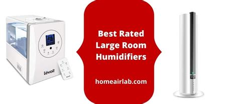 rated large room humidifiers  square feet