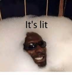 it s lit and it s lit meme on sizzle