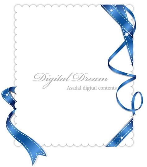 Corporate Invitation Design Vector | invitation cards design with ribbons