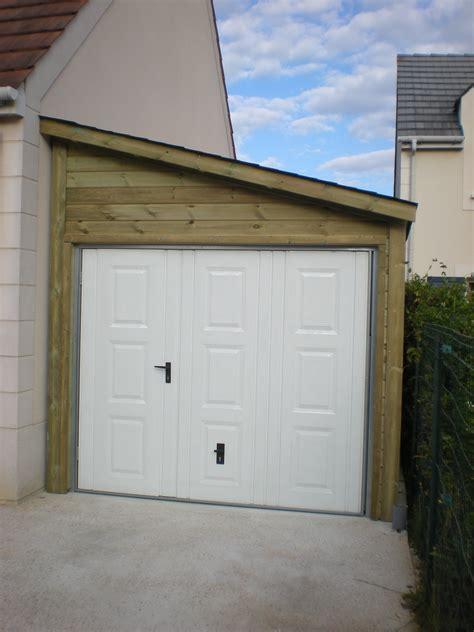 abri de garage garage bois anjou 1 pente 2 70 m x 7 m gamme