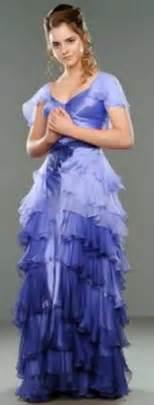 harry potter hermione granger yule gown dress 1