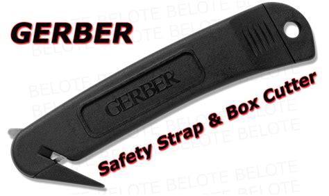 gerber safety knife gerber safety hook knife cutter black sheath
