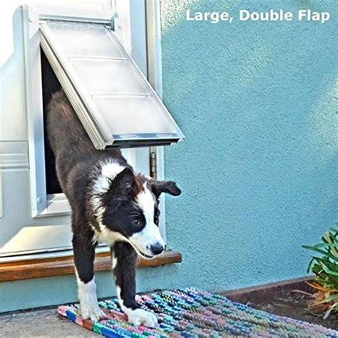 patio pacific pet doors patio pacific endura flap door mount pet door new ebay