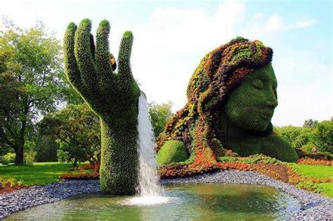 Montréal Botanical Garden Montreal Botanical Garden O Canada