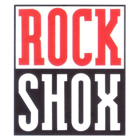 Rock Shox Logo Stickers by Rock Shox Logo